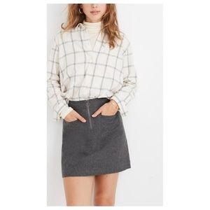NWT Madewell Fireside Mini Skirt